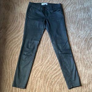 Jolt Black Skinny, Low Rise Jeans, Size 5.